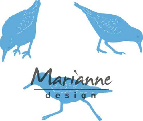 Marianne D Creatable Tiny's sand pipers LR059620.5x31.5, 35.5x27, 45.5x24.5 mm  (05-19)