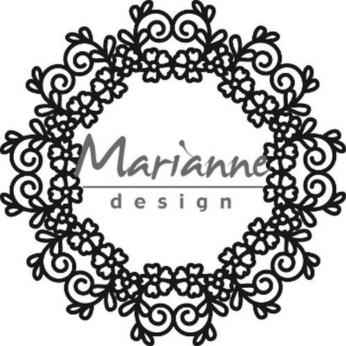 Marianne D Craftable Floral Doily CR1470110 mm  (05-19)