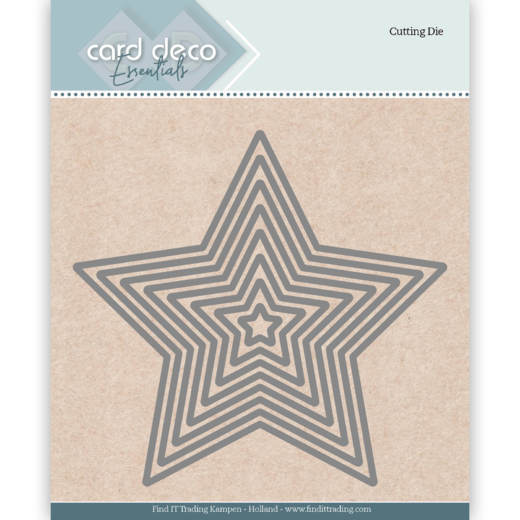 Card Deco Essentials Cutting Dies Star