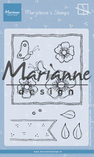 Marianne D Clear Stamps Marjoleine's anemones MZ1902 105x148mm (07-19)