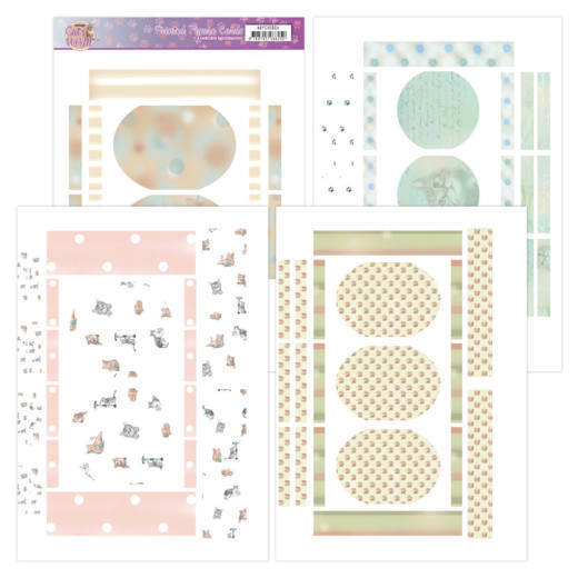 Printed Figure Cards - Amy Design - Cats World