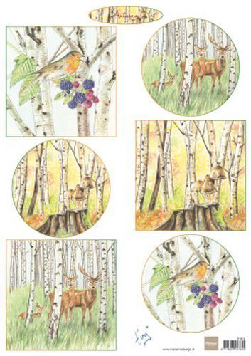 Marianne D Decoupage Tiny's Autumn IT612 A4 (09-19)