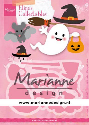 Marianne D Collectable Eline's Halloween COL1473 164x52mm, 55x36mm (10-19)