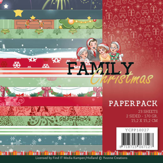 Paperpack - Yvonne Creations - Family Christmas