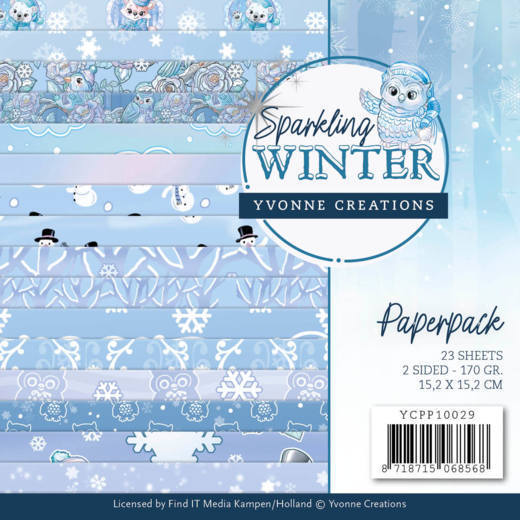 Paperpack - Yvonne Creations - Sparkling Winter