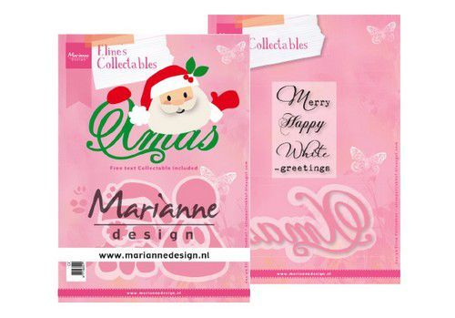 Marianne D Collectable Eline's Santa Xmas (Eng) COL1477  150x210 mm (11-19)