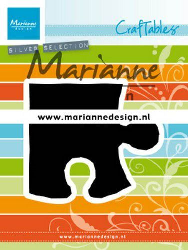 Marianne D Craftable Puzzelstuk CR1491 83x73.5 mm (01-20)