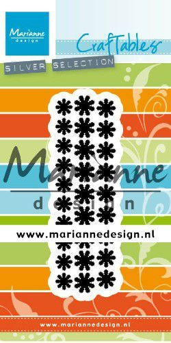 Marianne D Craftable Punch die madeliefjes CR1501 28x92mm (02-20)