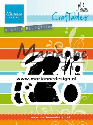 Marianne D Craftable konijn by Marleen CR1498 71x57mm (02-20)