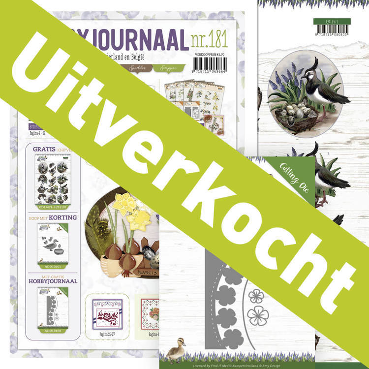 Hobbyjournaal 181 inclusief ADD10198