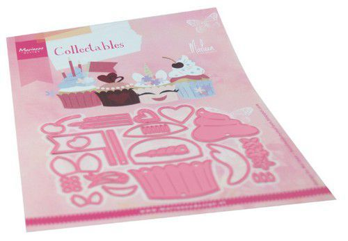 Marianne D Collectable Cupcakes by Marleen COL1481 120x94mm (04-20)