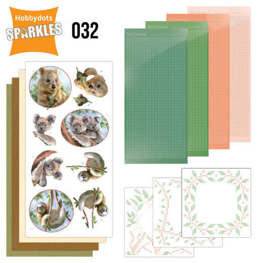 Sparkles Set 32 - Amy Design - Wild Animals - Outback