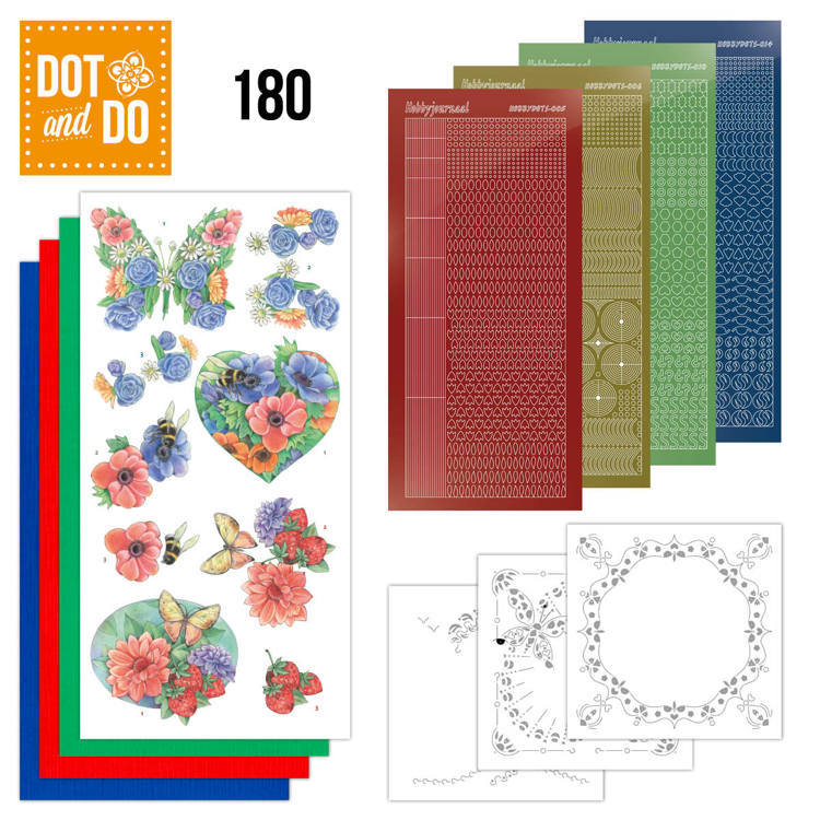 Dot and Do 180 - Summer Flowers