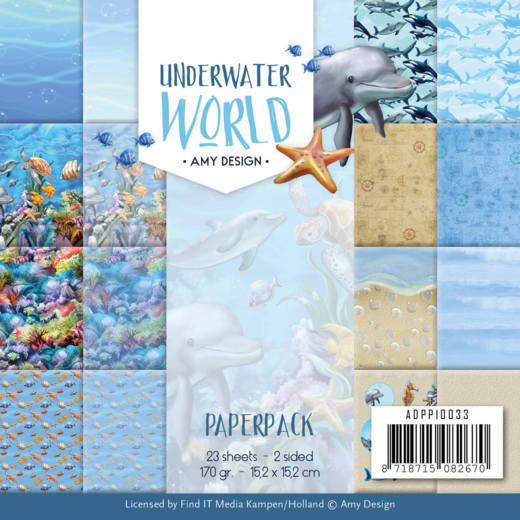 Paperpack - Amy Design - Underwater World