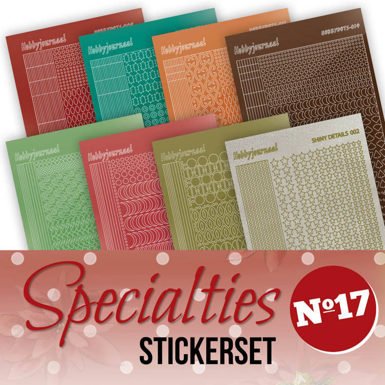 Specialties 17 Stickerset