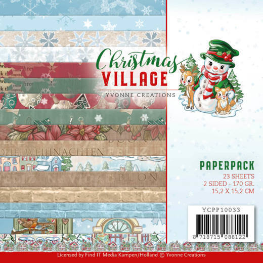Paperpack - Yvonne Creations - Christmas Village