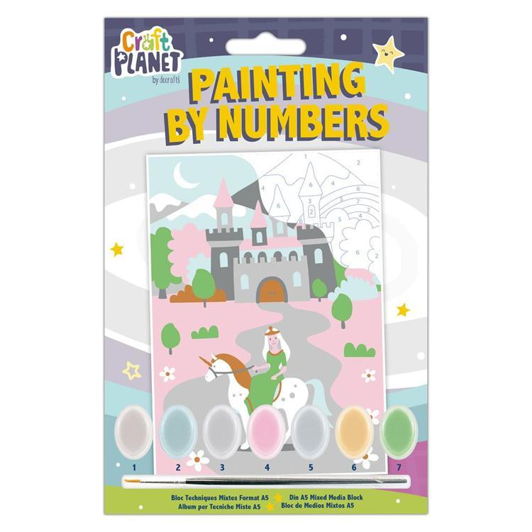 Mini Painting By Numbers - Fairytale Castle