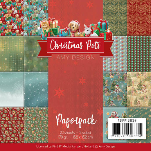 Paperpack - Amy Design - Christmas Pets