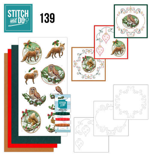 Stitch and Do 139 - Amy Design - Christmas Animals