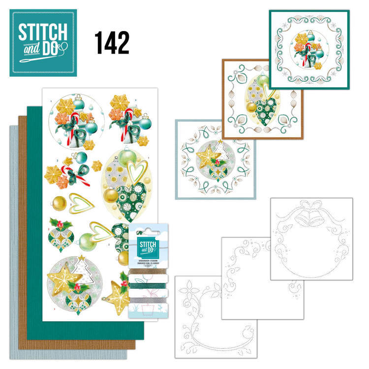 Stitch and Do 142 - Jeanine's Art - Christmas Baubles