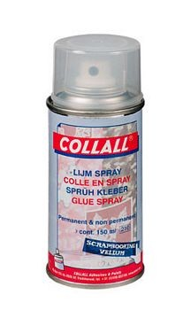 Collal alleslijm spray-bus
