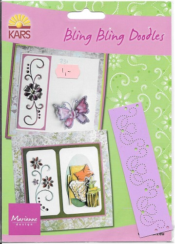 Borduurmal Bling Bling Doodles marianne design