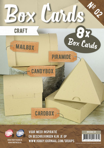 Box Cards 2 - Craft