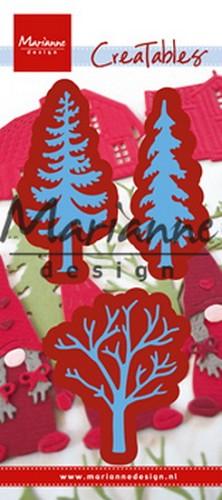 Afbeeldingsresultaat voor Marianne Design creatable trees LR 0556